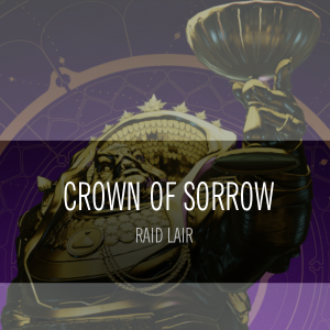 crown of sorrow boost
